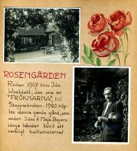 Maja Fajers album om Skepparkroken 1950-51 - sidan 02