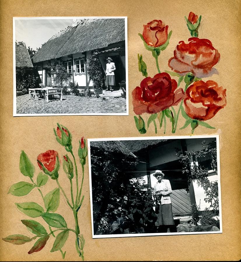 Maja Fajers album om Skepparkroken 1950-51 - sidan 03