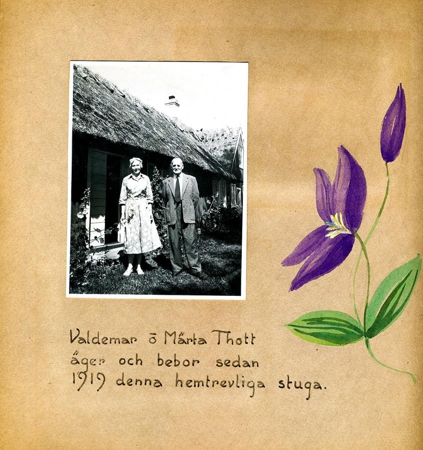 Maja Fajers album om Skepparkroken 1950-51 - sidan 04