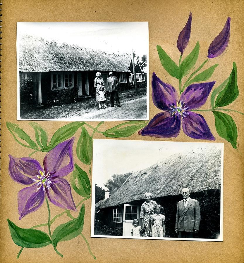 Maja Fajers album om Skepparkroken 1950-51 - sidan 05