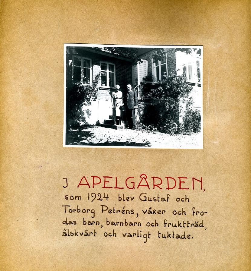 Maja Fajers album om Skepparkroken 1950-51 - sidan 06