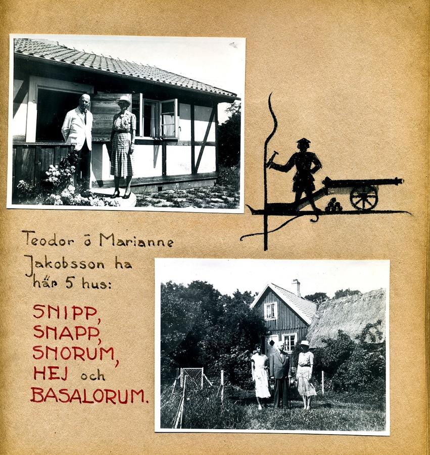 Maja Fajers album om Skepparkroken 1950-51 - sidan 09