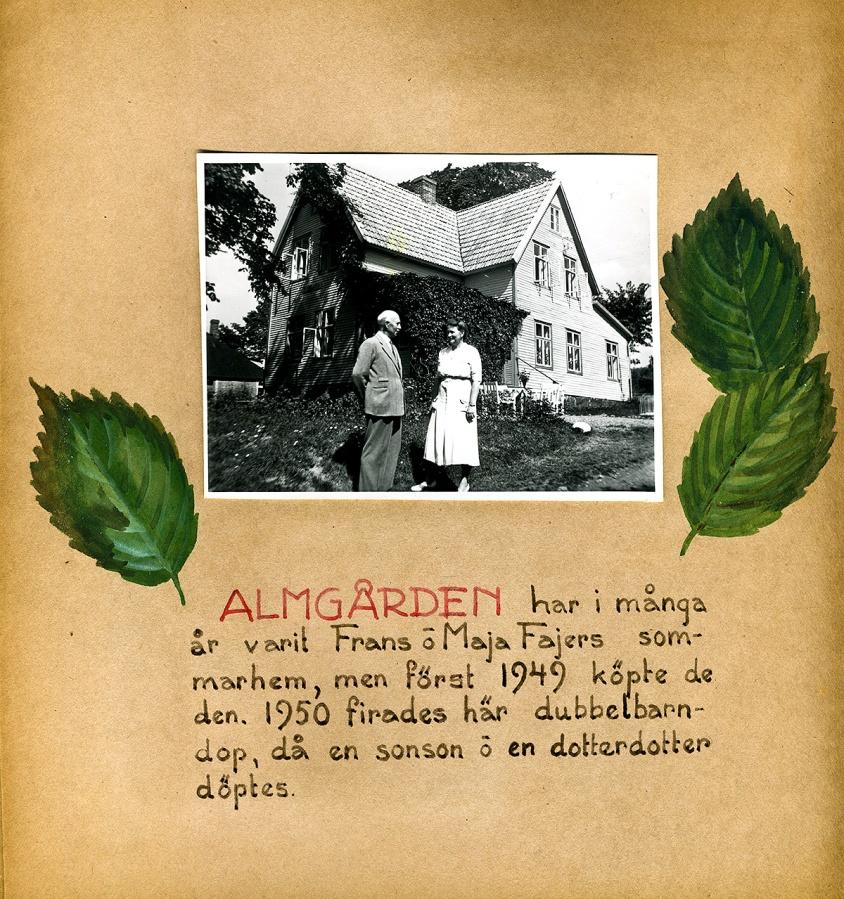 Maja Fajers album om Skepparkroken 1950-51 - sidan 10