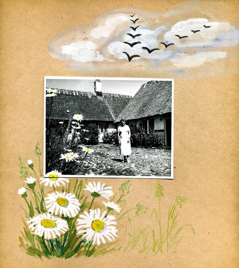 Maja Fajers album om Skepparkroken 1950-51 - sidan 17