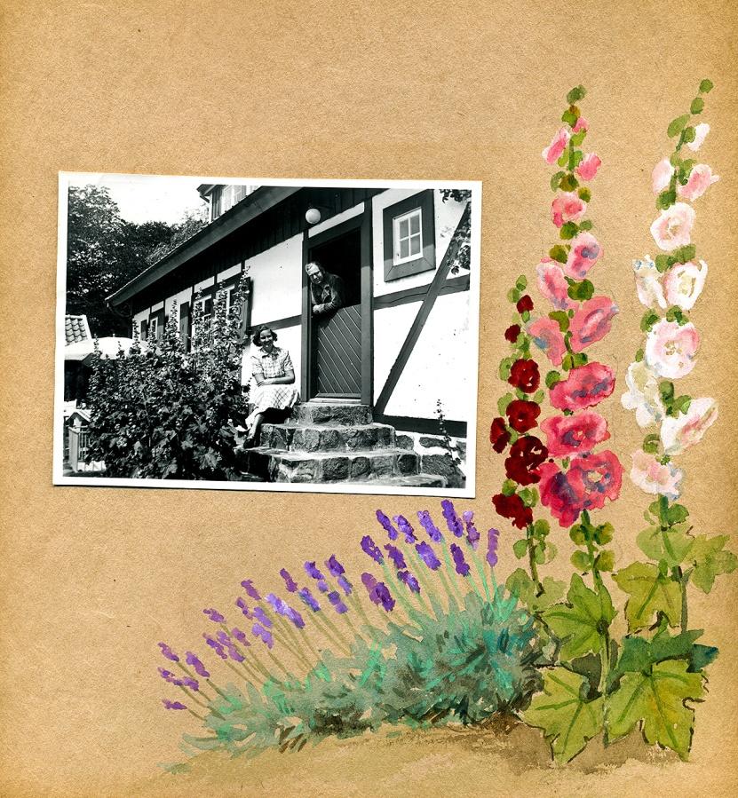 Maja Fajers album om Skepparkroken 1950-51 - sidan 19