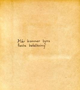 Maja Fajers album om Skepparkroken 1950-51 – sidan 20