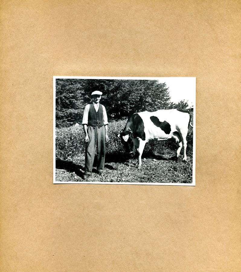 Maja Fajers album om Skepparkroken 1950-51 – sidan 25 Nils Hulth