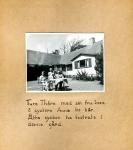 Maja Fajers album om Skepparkroken 1950-51 – sidan 26 Thöre, Inez och Else Thörn