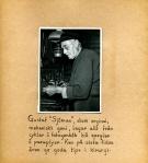 Maja Fajers album om Skepparkroken 1950-51 – sidan 37 Gustav Sjöman