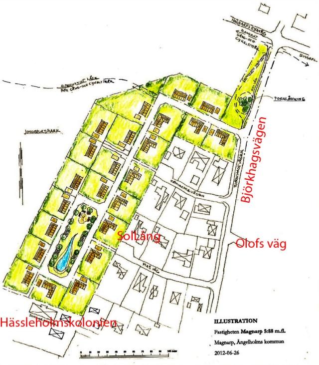 Plan för utvidgning av Björkhagen
