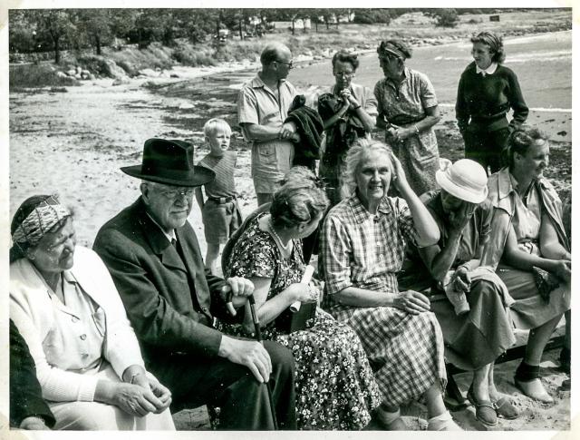 Simpromovering i Skepparkroken c:a 1950