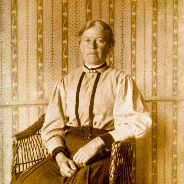 Albertina Hulth c:a 1910