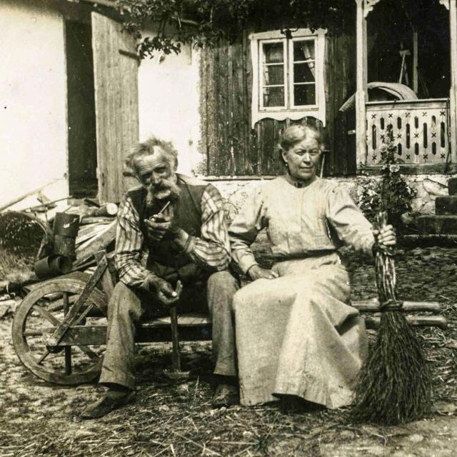Anders och Albertina Hulth c:a 1910