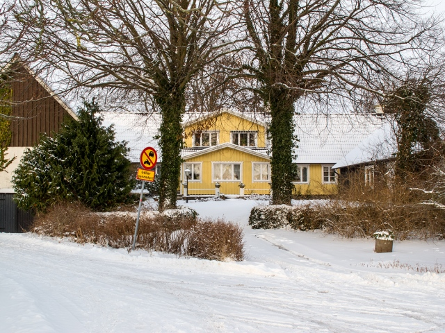 Hulths gård i Skepparkroken i december 2010