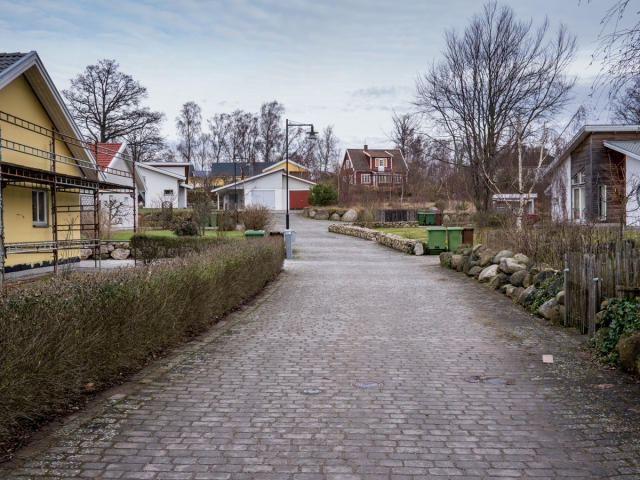 Kustroddarevägen 17 A-F i Björkhagen