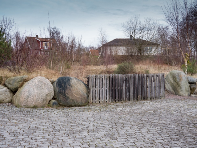 Kanske någon av dessa flyttade stenar  var StrandKierrs Sten från 1726 års karta