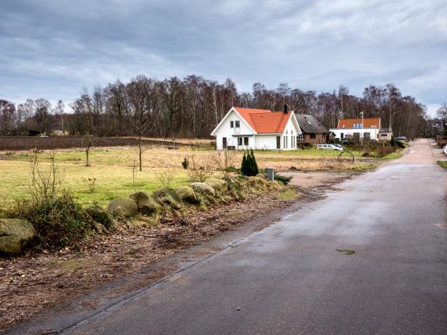 Läget för StandKierret från 1726 längs Majgårdsvägen i Björkhagen