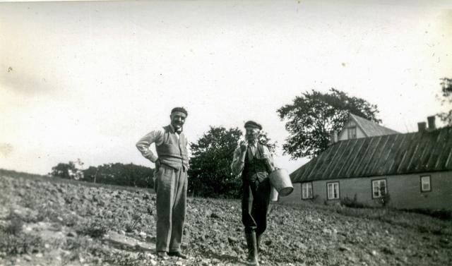 Hans Kihlgren och Nils Hulth c:a 1940