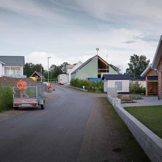 Hus på Östra Pilkvägen i Skepparkroken