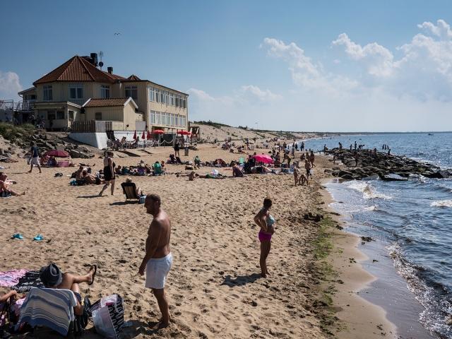 Havsbaden vid Klitterhus 2014-07-18