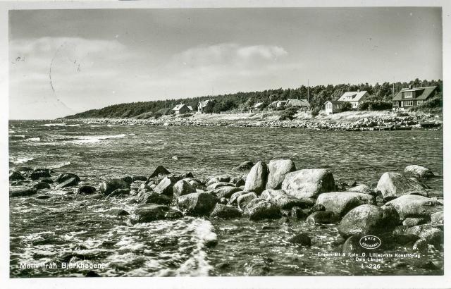 Brynolfs kås i Björkhagen på ett vykort från 1950-talet