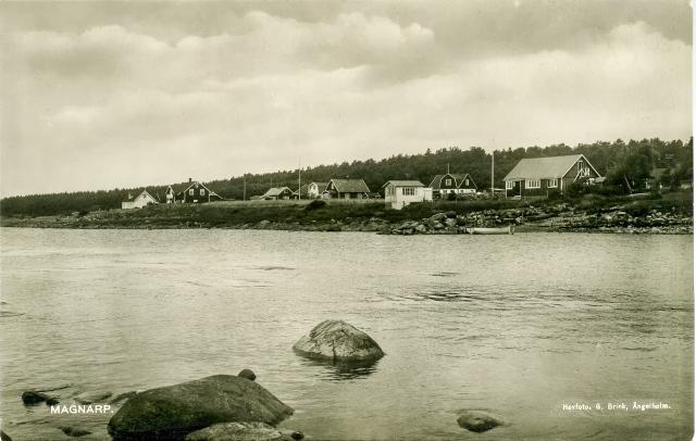 Brynolfs kås i Björkhagen på ett vykort från 1930-talet