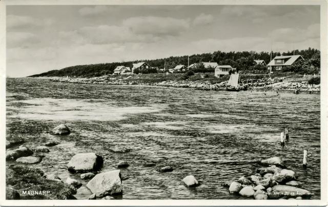 Brynolfs kås i Björkhagen på ett vykort från 1940-talet