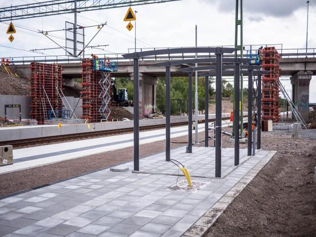 Pågatågsstation Barkåkra 2015-09-15