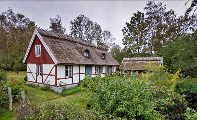 Sömmerskornas hus i Björkhagen. Google street view oktober 2010