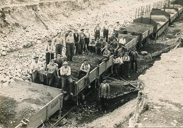 SJ:s nya grusgrop på 1930-talet (bild från Ingemar Kanth)