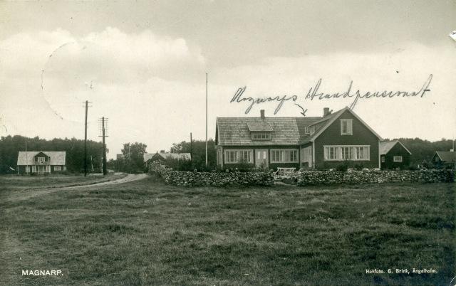 """""""Magnarps Strandpensionat"""" i Björkhagen c:a 1935"""